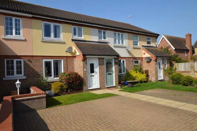Thumbnail Terraced house for sale in Augustus Close, Highwoods, Colchester