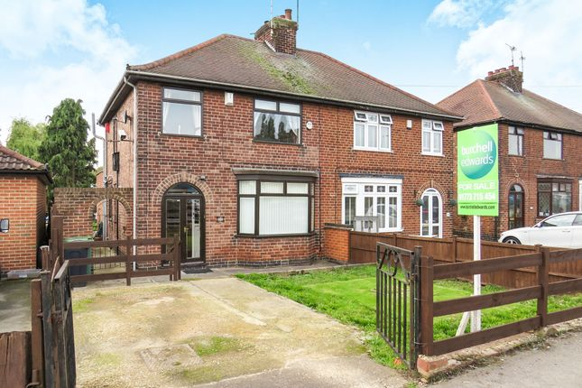 Thumbnail Semi-detached house for sale in Cromford Road, Langley Mill, Nottingham