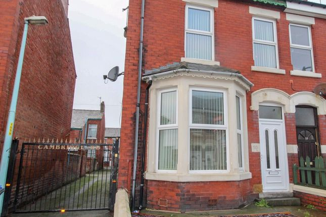 Thumbnail Terraced house to rent in Cambridge Road, Blackpool
