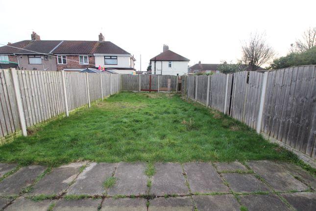 Rear Garden of Longmoor Lane, Liverpool L10