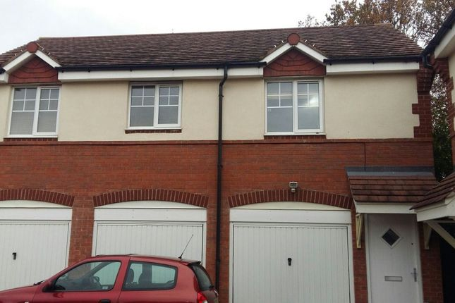 Thumbnail Detached house to rent in Hidcote Close, Rugby, Warwickshire