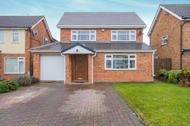 5 bed detached house for sale in Ash Tree Road, Oadby, Leicester