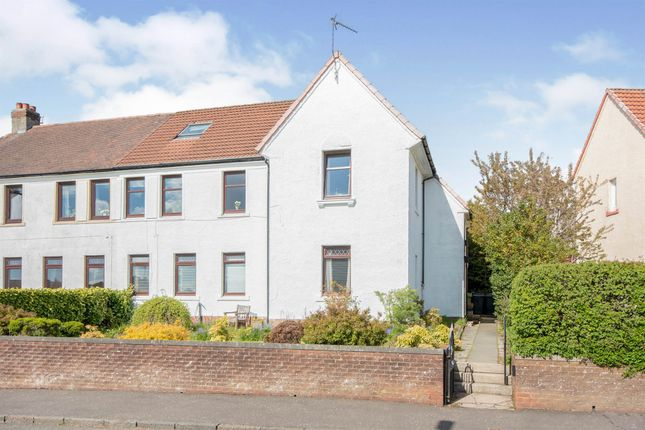 Thumbnail Flat for sale in Hawthorn Road, Busby, Glasgow