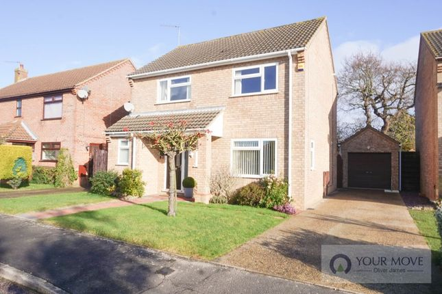 Thumbnail Detached house to rent in The Parklands, Carlton Colville, Lowestoft