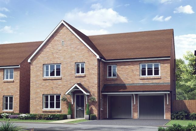"Thumbnail Detached house for sale in ""The Compton"" at The Gallops, High Street, East Ilsley, Newbury"