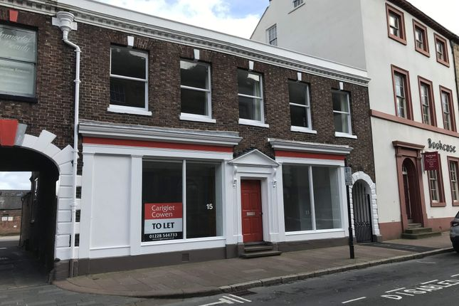 Thumbnail Office to let in Castle Street, 15, Carlisle