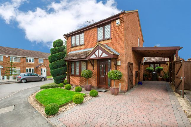 Thumbnail Detached house for sale in Swinburne Close, Kettering