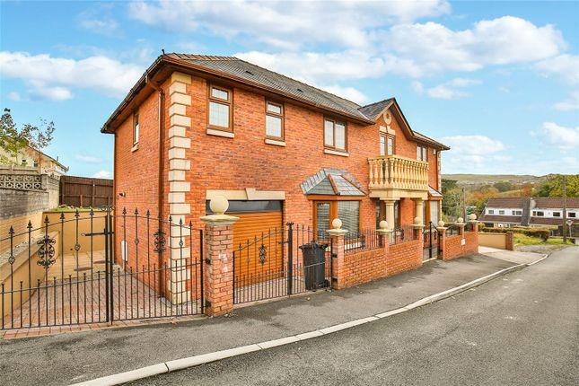 Thumbnail Detached house for sale in Heol-Y-Mynydd, Cefncoedycymer, Merthyr Tydfil