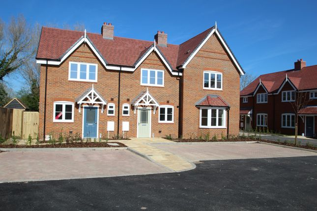 Thumbnail Terraced house for sale in Low Meadow, Brook End, Weston Turville