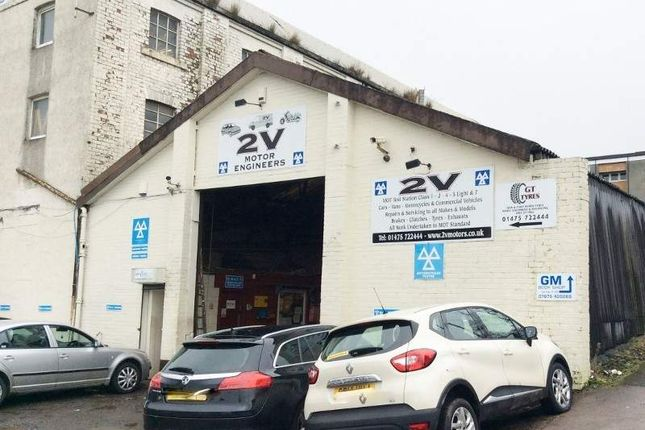 Thumbnail Parking/garage for sale in G M Bodyshop, Greenock