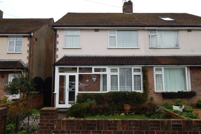Thumbnail Semi-detached house for sale in Old Manor Way, Drayton, Portsmouth