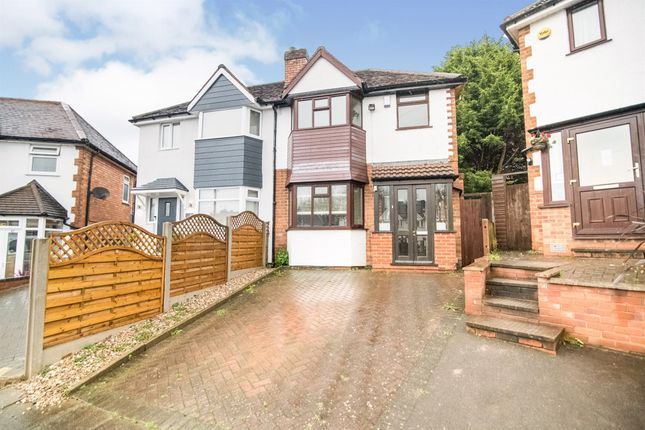 Thumbnail Semi-detached house for sale in Woodvale Road, Hall Green, Birmingham