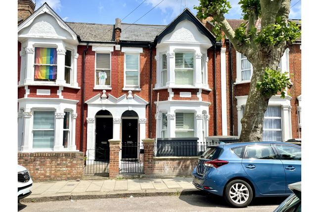 Thumbnail Terraced house for sale in St. Johns Avenue, Roundwood Park