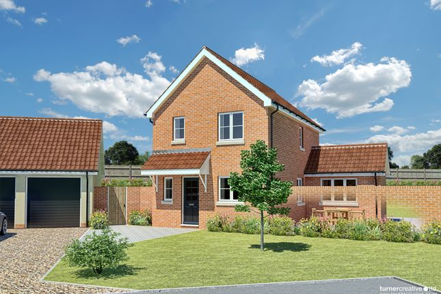 Thumbnail Detached house for sale in Tuns Road, Necton