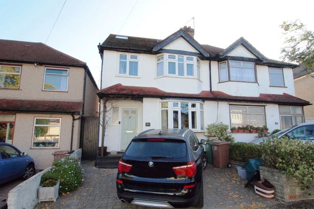Thumbnail Semi-detached house for sale in Fieldsend Road, Cheam Village