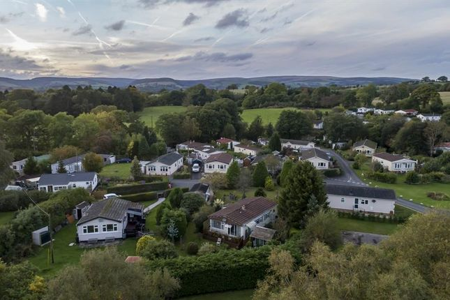 Thumbnail Mobile/park home for sale in 20 The Glade, Caerwnon Park, Builth Wells
