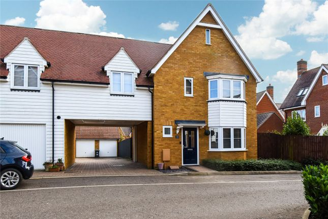 Thumbnail Link-detached house for sale in Almond Road, Dunmow
