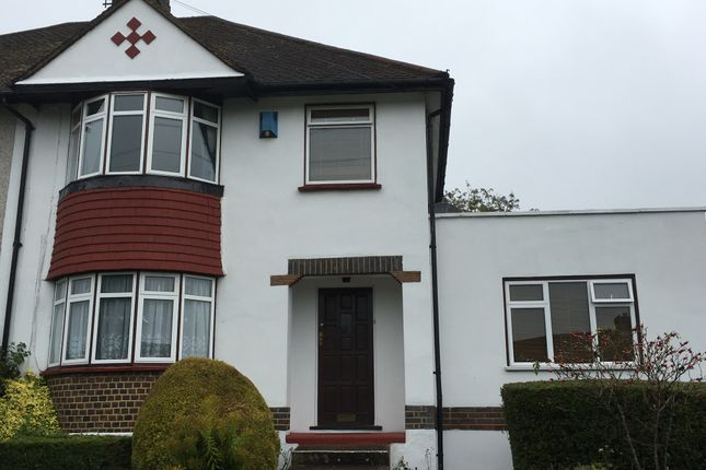 Thumbnail Semi-detached house to rent in St Andrews Road, Coulsdon