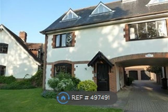 Thumbnail End terrace house to rent in The Green, Old Knebworth, Knebworth