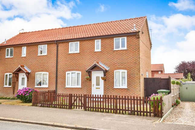 Thumbnail Semi-detached house for sale in Kettlestone Road, Little Snoring, Fakenham