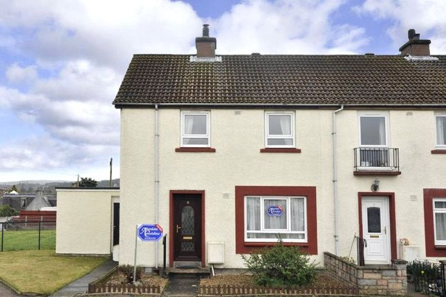 Thumbnail End terrace house to rent in 18 Silverbank Crescent, Banchory, Kincardineshire