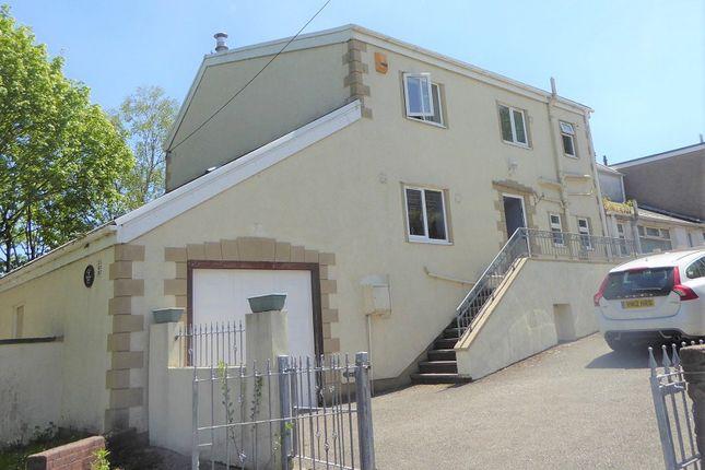 Thumbnail Semi-detached house for sale in Bridgend Road, Aberkenfig, Bridgend, Bridgend County.