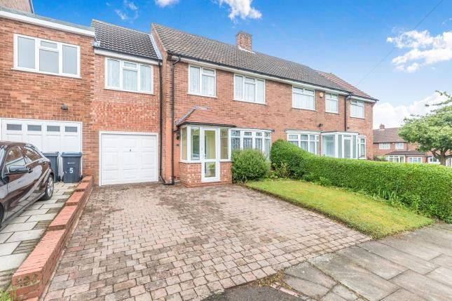Thumbnail Semi-detached house for sale in Clover Road, Bournvile, Birmingham, West Midlands