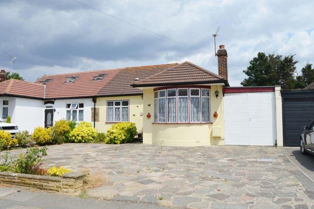 Thumbnail Bungalow for sale in Beltinge Road, Harold Wood, Romford