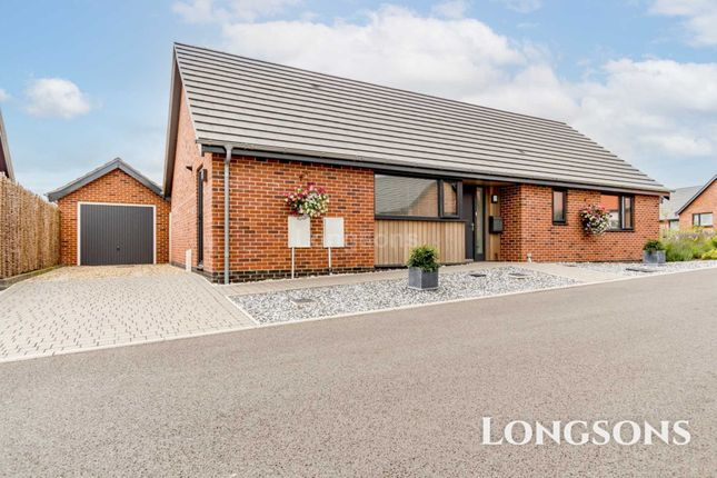 Thumbnail Detached bungalow for sale in Swanflower Way, Swaffham