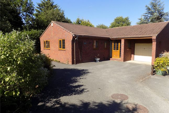 Thumbnail Detached bungalow for sale in Twyford Close, Heanor, Derbyshire