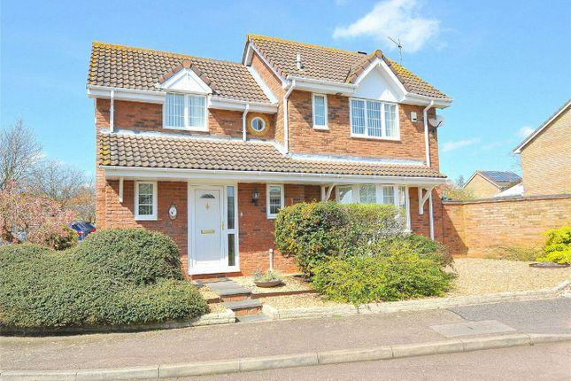Thumbnail Detached house for sale in Exmoor Close, Hinchingbrooke, Huntingdon, Cambridgeshire