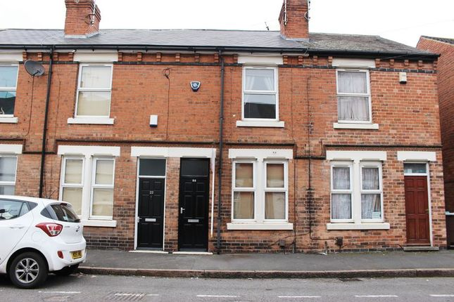 Thumbnail Terraced house to rent in Warwick Street, Dunkirk, Nottingham