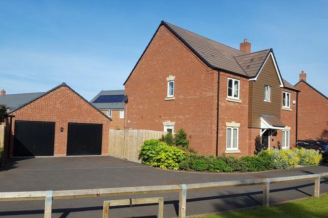 Thumbnail Detached house for sale in Macaulay Lane, Warwick, Warwickshire