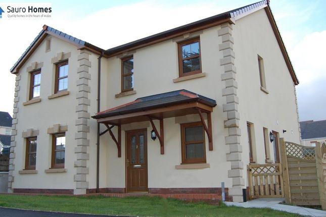 Thumbnail Detached house for sale in Heol Cwmmawr, Drefach, Llanelli