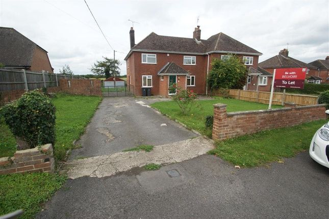 Thumbnail Semi-detached house to rent in Barrow Hill, Goodworth Clatford, Andover