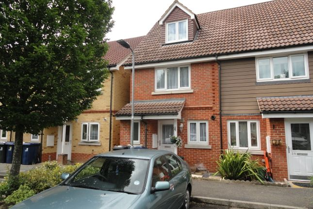 Thumbnail Town house for sale in Poppy Close, Northolt