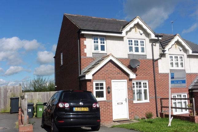 Thumbnail Semi-detached house for sale in Borrowdale Crescent, Armley