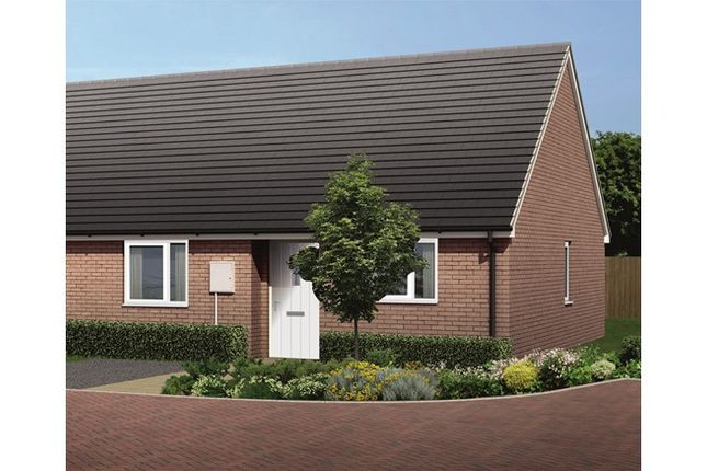 2 bedroom bungalow for sale in 5 Squirrel Crescent, Melton Mowbray, Leicester, Leicestershire