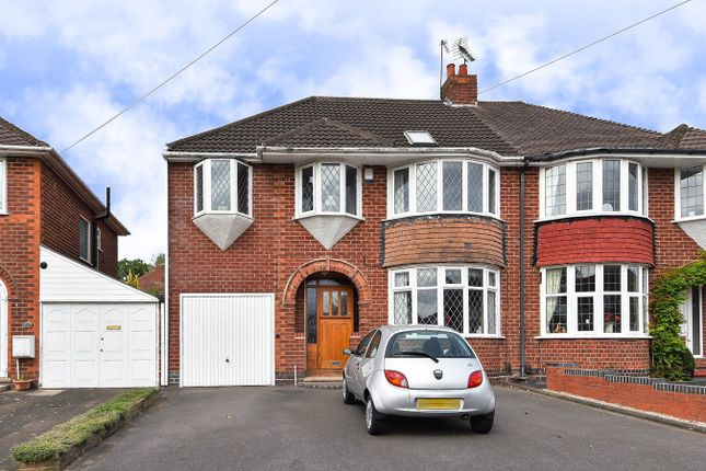Thumbnail Semi-detached house for sale in Granshaw Close, Kings Norton, Birmingham
