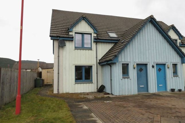 Thumbnail Semi-detached house for sale in Broomhill Court, Aviemore
