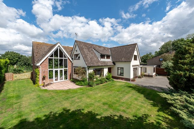 Thumbnail Detached house for sale in Main Road, Woolverstone, Ipswich