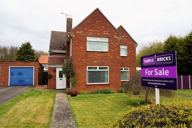 Thumbnail Detached house for sale in Lancaster Green, Gainsborough