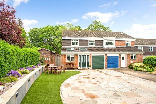 Thumbnail Semi-detached house for sale in Holmesland Drive, Botley, Southampton, Hampshire