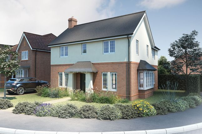 "Thumbnail Detached house for sale in ""The Caulke"" at Roman Road, Bobblestock, Hereford"