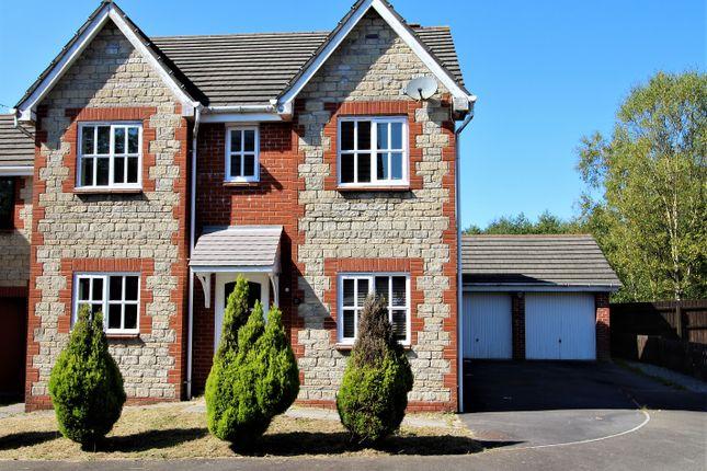 Thumbnail Detached house for sale in Ffordd Ger Y Llyn, Tircoed Forest Village, Penllergaer, Swansea