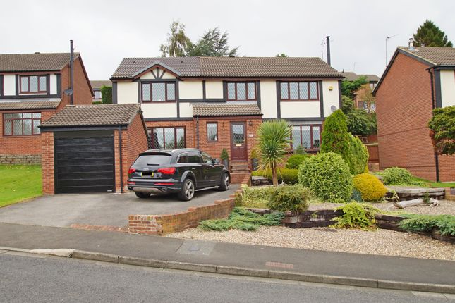 Thumbnail Detached house for sale in Lindisfarne Road, Newton Hall, Durham