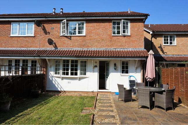 Thumbnail End terrace house for sale in James Close, Chippenham