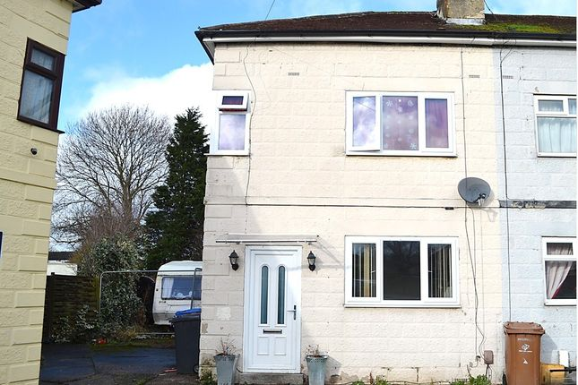 Thumbnail End terrace house for sale in The Crescent, Alvaston, Derby