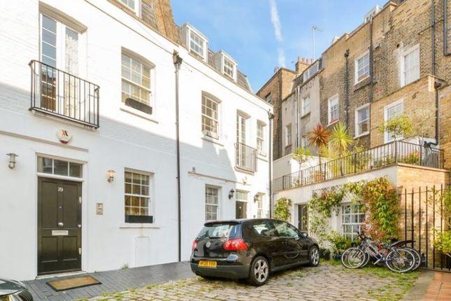 Thumbnail Town house to rent in Eccleston Square Mews, London