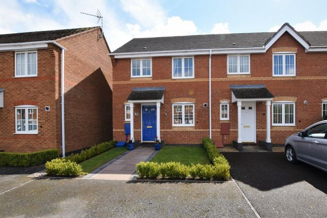 Thumbnail End terrace house for sale in Snelston Close, Oakham